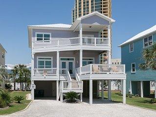 Serenity: 6 BR / 5 BA house in Orange Beach, Sleeps 16
