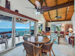 Pacific Edge Bliss+Island Style! Luxe Kitchen+Bath, Lanai, WiFi Laundry, TV Kana