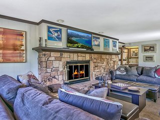 Warm Squaw Valley 1BR Condo 5 Min to Ski Resort!
