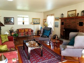Enjoy the end of fall comfy in this eclectic 3 bedroom home in the Catskills!