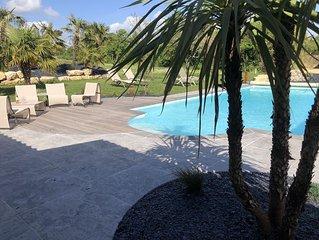 Demeure Marais poitevin avec piscine  a 30 min de la Rochelle/ 45 Ile de ré