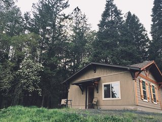 This property is peaceful, private and located on the outskirts of  Grants Pass