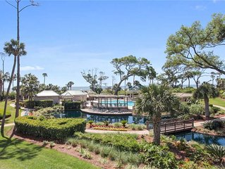 2 bedroom ocean front villa located in Palmetto Dunes
