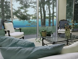 Hamptons Waterfront Architectural Gem / New Listing!