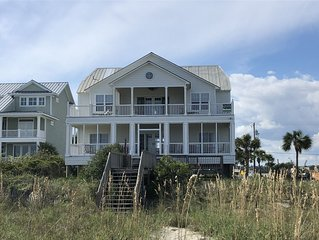Relaxed Cancellation! Home on the Beach With Bonus Creek Views & Heated Pool