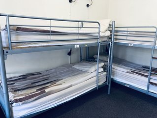 Single bed in 8 bed dorm - Alba Self Catering