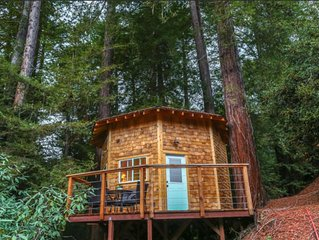 Redwood TreeHouse at Mountain Top Eco-Retreat