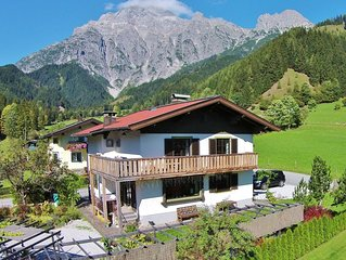 Spacious Chalet in Leogang near Ski Area