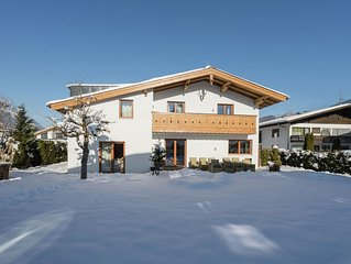 Beautiful centrally located chalet with lots of luxury in well-known Zell am See
