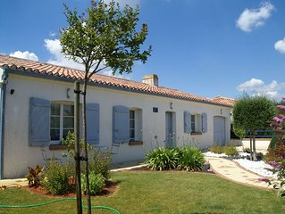 Quiet Holiday Home in Loire with Swimming Pool