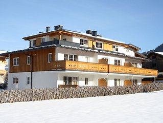 Newly built holiday home near the ski lift in Kaprun