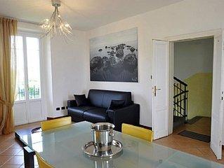 Villa Minni: Un elegante ed accogliente appartamento che è parte di una villa st