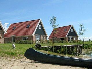 Leuk 8-pers. huis op een kleinschalig park met diverse faciliteiten