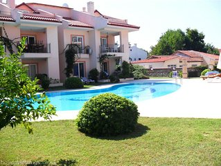 3 Bedroom Daily Rental Holiday House in Calis Beach. Shared pool in the center o