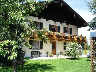 A very spacious 4-person holiday home near the Chiemsee.