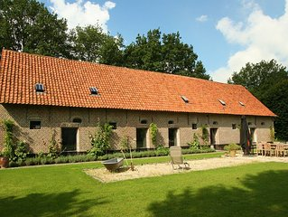 Former stables, converted into a beautiful rural holiday home with a common saun
