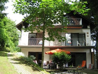 Quietly located appartment with sauna, ideal situated for (mountain-) bikers, m