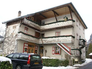 Large and tasteful Alpen Chalet at the foot of the skiing area Les Portes du Sol