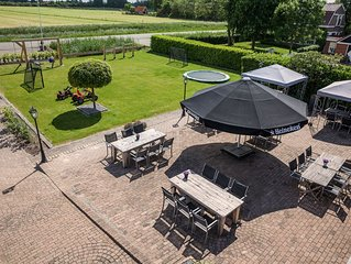 Restaurant converted to group accommodation with private bar, in lovely setting
