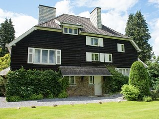 Fabulous Mansion in Spa Liege with private garden