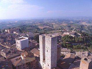 Apartment / Condo in San Gimignano with 2 bedrooms sleeps 4