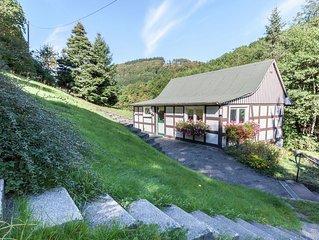 Modern Holiday home in Oberkirchen with Garden