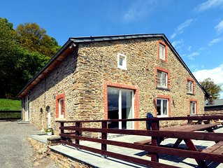 Detached, characteristic holiday farmhouse with spacious terrace in the Ardenne