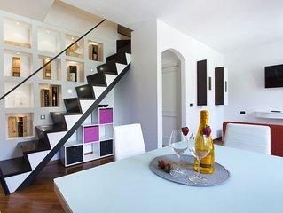 MODERNO SAN FRANCESCO - central and modern apartment 6bd