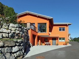 Modern apartment in a traditional country style on the edge of Dalaas.