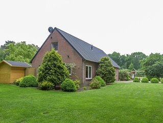 Holiday home in a rural location in Vessem, North Brabant, with sauna and hot tu