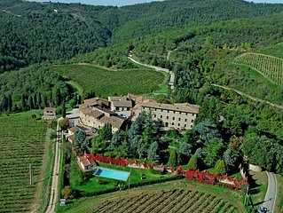 In the heart of the Chianti hills