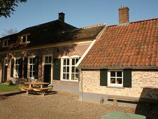 Monumental and typical farm in the Overijssel region Sallandsche