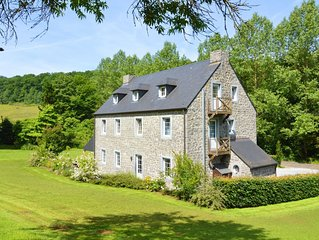 Holiday house in the forest near Maredsous, ideal for hikers