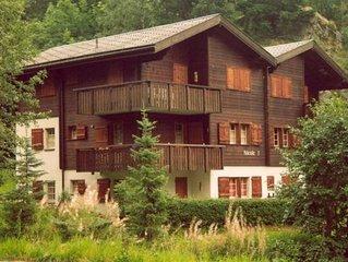 Ferienwohnung Blatten b. Naters für 5 - 6 Personen mit 2 Schlafzimmern - Ferienw