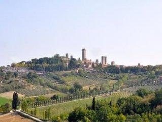 Ferienwohnung San Gimignano fur 2 - 3 Personen mit 1 Schlafzimmer - Bauernhaus