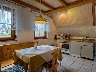 Ferienwohnung 40 qm, 1 Wohn-/Schlafraum, max. 3 Personen