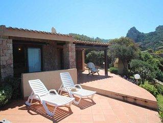 Ferienhaus Trinità d'Agultu e Vignola für 4 - 6 Personen mit 2 Schlafzimmern - F