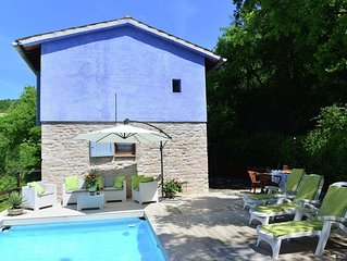 Beautiful house with private swimming pool, spacious garden and beautiful surro