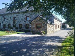 Balmy Cottage in Baugnez with Sauna and Billiards