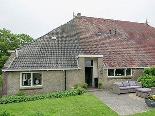 Farmhouse nearby the Friesian IJsselmeer.