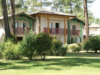 Cottage in green area of \u200b\u200bGujan-Mestras (6 km) in southern France