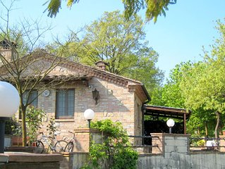 Charming holiday house in a rural setting located on a small estate