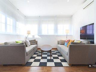 Friendly Rentals The Trafalgar Terrace apartment in Madrid