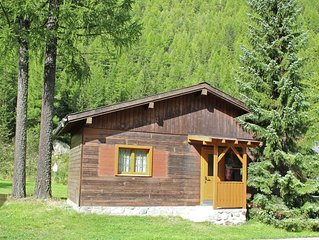2-4 persons chalet in small holiday park.