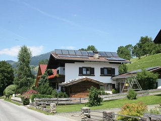This house is in a splendid location in a quiet spot above Westendorf.