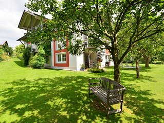 Quiet house with lots of garden and tree house for children