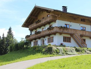 Spacious Apartment near Ski Area in Westendorf