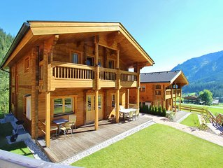 Modern Chalet with Jacuzzi in Krimml
