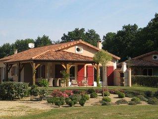 Modern villa with fire place, in the beautyful Loire region