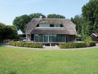 Spacious Mansion in Nijensleek with Sauna